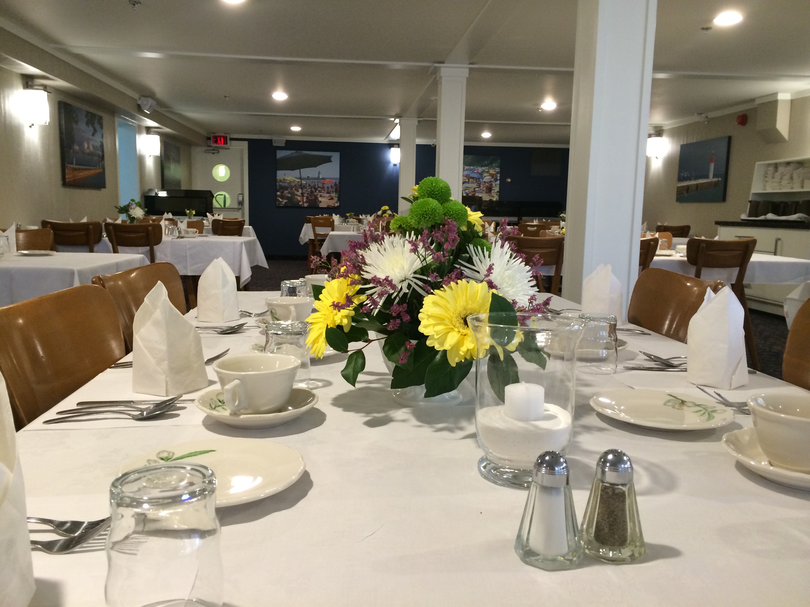 The Cove Room Is Our Most Formal Dinner Featuring Lake Erie Pickerel And Perch Dinners This Por Dining Welcomes Visitors Back Time